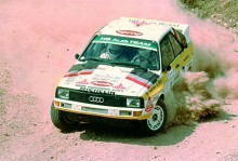 Sport Quattro homologiserades för den nya Grupp B i rally. Rallycirkusen blev allt nu allt snabbare och farligare.