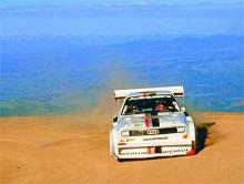 En av de mest extrema versionerna av Quattro var den som användes i backtävlingen Pikes Peak.