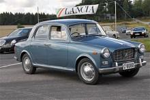 Tredje serien av Appia presenterades i mars 1959 med något starkare motor. Den traditionella fronten har ersatts av en grill liknande den på den större Flaminia.