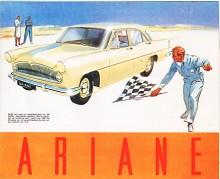 Med en Rushmotor med fem ramlager satte en Ariane på våren 1960 uthållighetsrekord på Miramasbanan, 200 000 km med en snittfart av 105 km/h. När 61:orna kom med nya motorn på 62 hk hette de Ariane Miramas,