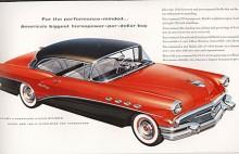 Andra generationens Buick Century 1954-1958 följde samma recept som den första. Buicks V8 kallades nailhead för de små ventilernas skull och var på 322 cid och bromsade 255HP i denna Century 1957.