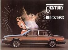 Den första Century med framhjulsdrift kom 1982 och det skulle alla senare Century också ha. Fjolårets bakhjulsdrivna modell tillverkades dock vidare under namnet Regal. Den nya Century var liksom Chevrolet Celebrity utvecklad ur GM:s X-car - tänk Skylark och Citation - nu börjar GM:s typmångfald bli ordentligt komplicerad. Nya modeller tillfördes hela tiden utan att de gamla lades ned.