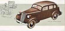 Detta är en 1936 års Opel 6 och inte en Regent fast den kallades så i Sverige.