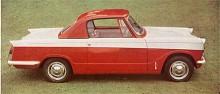 Italienske designern Michelotti skissade först på en coupé. Den fanns med från början men lades ned efter några år. Mycket sällsynt idag för många har slaktats av cabrioletägare som velat åt taket att ha som hardtop på vintern.