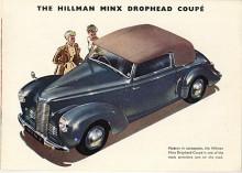 Förkrigsmodellen moderniserades 1947 med inbyggda strålkastare och rattväxel. De flesta var täckta men det fanns också en elegant Drophead Coupé.