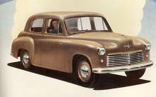 Londons första bilsalong efter kriget ägde rum 1948. Där visade Rootes en helt ny Hillman Minx med USA-inspirerade linjer, inte så konstigt för Raymond Loewy - skaparen av Studebakers 47:or- hade konsulterats.