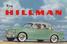 Nästa upplaga av Minx presenterades 1956 i en smäcker form som lite påminde om Studebaker. Motorn var den toppventilare på 1390 cc som kom redan 1954 i förra modellen.