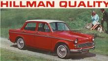 Grundkarossen från 1956 stod sig länge. Efter en lyckad modernisering 1963 blev 1967 det sista året. Motorn var då på 1725 cc.