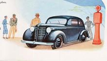 Olympia 38 kallas nästa utveckling med en 1,5 liters toppventilmotor som ersatte den gamla sidventilaren på 1,3 liter. Den moderniserade formgivningen är signerad Franklin Q. Hershey. Han räknas som upphovsman till Cadillac 1948 och Thunderbird 1954.