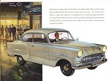 Från 1953 blev Olympia en kromlös sparvariant av Rekord. Detta är en 57:a, sista upplagan av den modellserie som endast hade ärvt motorn från föregångaren, allt annat var nykonstruerat.