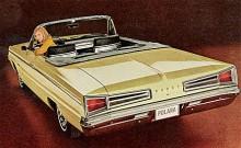 1967: Tredje generationen Polara kom 1965 och Polara blev åter en äkta fullsize-bil. Polara var inte längre toppmodellen, nu var det Monaco som var finast.