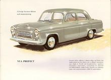 1953 kom en helt ny Prefect med självbärande kaross. Men motorn var samma.