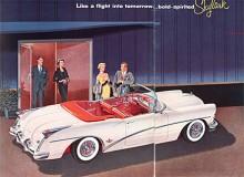 Buick hade helt nya karosser 1954 och nu var Skylark byggd på den mindre Century som den skilde sig från med ett annat, faktiskt ganska underligt bakparti. Skylark 1954 såldes i 836 exemplar, mindre än hälften av de 1690 enheter som 53:an kom upp i.