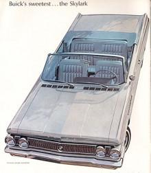 Namnet Skylark återupplivades 1961 på en motorstarkare coupé av Special, Buicks kompakt. Den kom mitt i modellåret och hade den grill och andra stildrag som skulle komma på nästa års Special. På bilden en 63:a med 200 HP ur den aluminium-V8 som skulle komma att byggas av Rover ända till 2004.