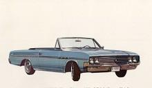 1964 års modell av Skylark var helt ny och inte längre någon compact utan en intermediary. Skylark fanns nu även med V6.