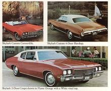 En ny grundkaross kom 1969 som med en större facelift 1970 höll ut till 1972. Special försvann som namn 1970 och även de enklaste modellerna hette därefter Skylark. Bilden visar några 72:or.