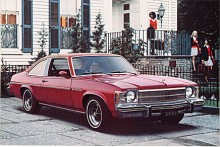 Ingen Skylark fanns 1973 och 1974 men 1975 återkom namnet på en bil som var en coupémodell av Apollo som i sin tur var Buicks version av Chevrolet Nova. Även Apollo kallades från 1976 Skylark.