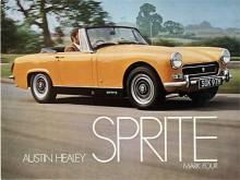 Sprite blev med tiden mer civiliserad med vevbara sidofönster och fällbar sufflett. Motorstorleken ökades från 948 via 1098 till 1275 cc. Rostylefälgar och svart dekor kom från 1969 . Eftersom BMC slutat betala licensavgift för namnet till Donald Healey såldes 1971 de sista bilarna som Austin Sprite.