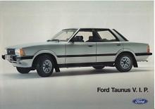 Sista versionen. Taunus dödförklarades sent 1982 när Sierra skulle axla ansvaret som världsbil - men inte riktigt. Taunus tillverkades i Otosan i Turkiet till 1994!
