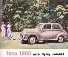 En tidig muskelbil var Velox 1948-1951 med en 2 ¼-liters toppventilsexa i en kaross som i sin grundform var avsedd för en hälften så stor fyra. Den var modern med rattväxel och hel soffa fram.