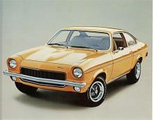Med breda fälgar och svärtad grill såg Vega inte ut som den ekonomibil den faktiskt var. Skivbromsar var nu en självklarhet i Detroit och vägegenskaperna hos Vega med GT-fjädring fick godkänt av sportbilstidningen Road&Track.
