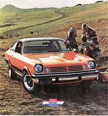 Mid-life facelift kallas på Detroitspråk de ändringar som görs efter några år för att förnya intresset för en modell. Vega fick 1974 ny front och nya baklyktor. Man kunde få vinyltak och ett GT-paket med styvare fjädring och sportiga tillbehör som varvräknare och fyrekrad ratt.