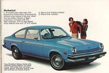Sista årsmodell av Vega var 1977 men grundkonstruktionen levde vidare ett par år till i sportcoupén Monza. GM sålde under sju år drygt två miljoner Vega och vann därmed marknadskriget mot Pinto. Den sålde Ford lika många av men behövde tio år för det.