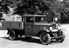 En Chevrolet...nej Opel. Blitz var namnet.