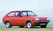 Här en 1983 års Vauxhall Chevette.