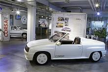 En skön ensitsig prototyp byggd på Corsa.