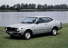 1974 var det dags igen, en ny generation Corolla kom. En aning större än föregångaren.