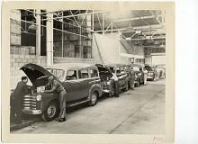 Full fart i fabriken när den så kallade Advance Design-generationen av Suburban skulle tillverkas.