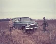 En lite lätt skrämmande bild, men Task Force Suburban som tillverkades 1955-59 har precis som Tri-Chevys 1955-57 blivit populära entusiastbilar.