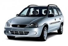 I Argentina säljs fortfarande Corsa B som Chevrolet Corsa, bland annat i denna kombiversion.