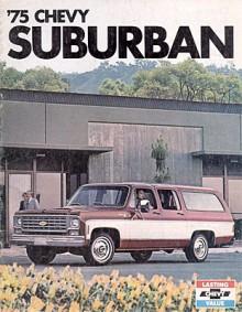 1973 kom äntligen en Suburban med fyra dörrar. Den här modellen skulle hålla sig kvar ända till 1991.