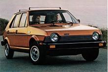 I Storbritannien, USA och Kanada såldes Ritmon som Fiat Strada. Bilden visar en Strada för den Nordamerikanska marknaden.
