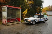 Volvo 245 GL 1988 som gått som hundbil i Kristinehamn.
