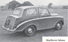 Hade bara hjulbasen varit längre hade Mayflower kunnat var en riktigt stilig bil.