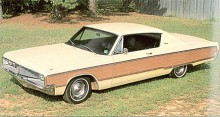 Endast 965 köpare beställde 1968 simulerad trädekor. Ett annars ganska typiskt tillbehör för tidsperioden sextio-sjuttiotalet.
