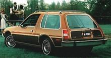 I Wagonutförande kunde Pacer nästan förväxlas med en vanlig bil.