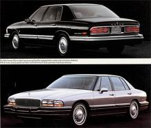 Med 1991 års redan klassiska modell blev Park Avenue modellnamnet, Electra var borta. Med ny kaross och tekniskt helt överarbetad var den nya Park Avenue en mycket bra bil som kunde mäta sig med europeiska lyxbilar. Park Avenue med kompressorladdad motor hade tillnamnet Ultra.