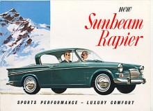 Kantiga karosser blev mode på 1960-talet och linjerna stramades upp på 1965 års Rapier som blev serie IV. Utseendet bibehölls på serie V med 1725 cc som lades ned 1967.