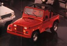 Wrangler Renegade erbjöds modellåren 1991-1993 som den dyraste modellen i serien. Den var utstyrd med utlagda skärmar i glasfiber och någon sorts spoiler. En felsatsning som inte blev populär.