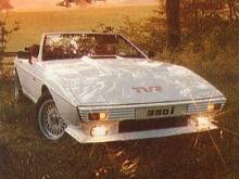 1984 gick TVR över till sifferbeteckningar som antydde motorstorleken men namnet Tasmin hänger kvar som en sammanfattande beteckning för modellen.