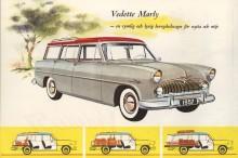 En herrgårdsvagn stod att tillgå hos varje biltillverkare av rang.  Vedette Marly gick att köra halvfull, full eller med öppen baklucka och några väskor slarvigt uppslängda på takräcket.