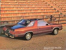 Mycket hände inte under produktionstiden och sista årsmodellen 1983 av Mercury Zephyr skilde sig inte mycket från den första. Bilden visar coupén. med sin karaktäristiska taklinje.