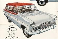 En helt ny upplaga av Ford Zephyr kom 1956 som Mark II. Zodiac var nu en egen modell. Stationsvagnen såldes genom Ford men var ett ombygge som utfördes av karossfirman E.D. Abbott i Farnham.