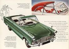Zephyr convertible var Englands enda sexcylindriga, femsitsiga cabriolet. Mark II hade en till 2,6 liter förstorad motor som gav 90 hk.