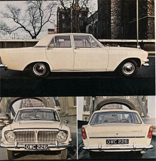 Mark III hette nästa modell av Zephyr. Den var kortlivad, 1962-1966. Den största nyheten förutom den fenförsedda karossen var den fyrstegade, helsynkroniserade växellådan.