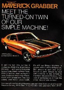 Special Editions är det smartaste sättet att sälja en menlös bil på. Grabber. Fränt. Svarta fartränder. Också fränt. Grabber fanns mellan 1971-75.